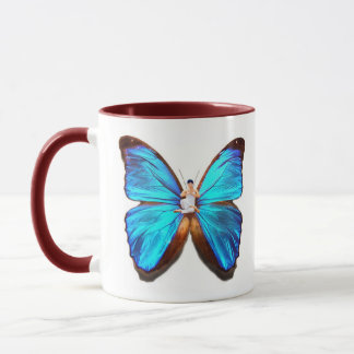 YOGA BUTTERFLY CUP - POSTURE AND BUTTERFLY