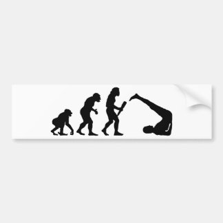 Yoga Pegatina De Parachoque