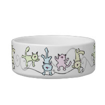Yoga Cat Bowl