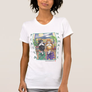 Yoga Cats Bud & Tony T-Shirt
