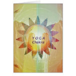 Yoga Chakra Card