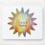 Yoga Chakra Mouse Pad