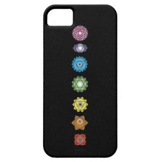 yoga chakras iPhone SE/5/5s case