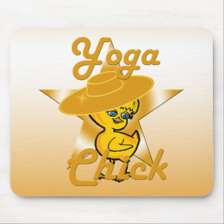 Yoga Chick #10 Mouse Pad