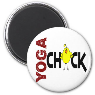 Yoga Chick 1 Magnet