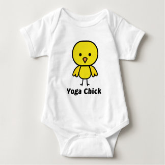 Yoga Chick Baby Bodysuit