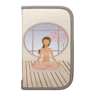 Yoga Chick Lotus  Rickshaw Folio Folio Planner
