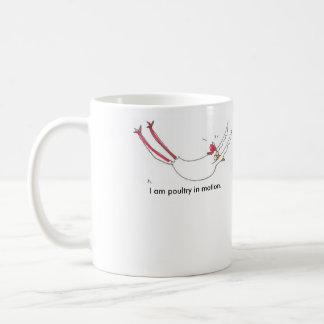 Yoga chicken grounded mug