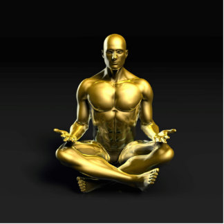 Yoga Class as a Form of Relaxation Statuette