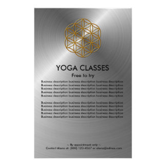 Yoga Classes Flyer
