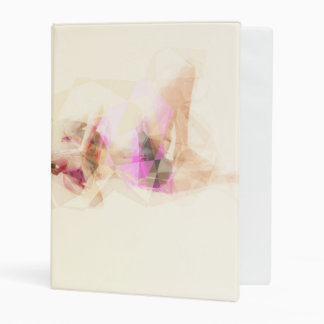 Yoga Concept Illustration Abstract as a Concept Mini Binder
