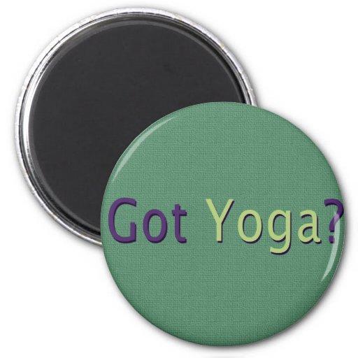 ¿Yoga conseguida? Imán Redondo 5 Cm