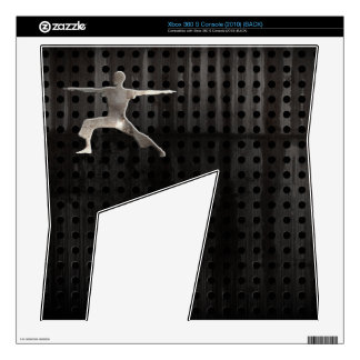 Yoga; Cool Black Xbox 360 S Decal