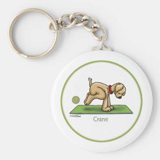 Yoga - Crane Keychain