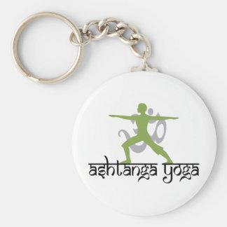 Yoga de Ashtanga de la actitud del guerrero Llavero