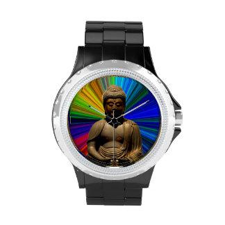 Yoga de Buda de la meditación Reloj De Mano