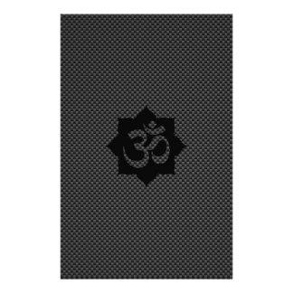 Yoga de la espiritualidad de Lotus del símbolo de Flyer Personalizado