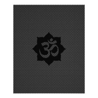 Yoga de la espiritualidad de Lotus del símbolo de Tarjetones