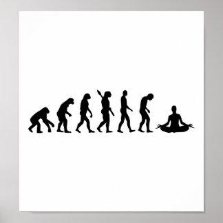 Yoga de la evolución poster