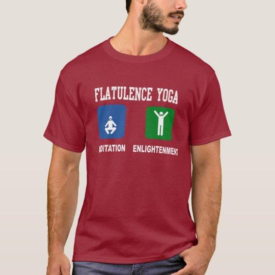 Yoga de la flatulencia playera