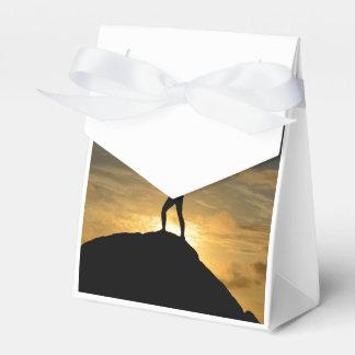 Yoga de la salida del sol cajas para regalos