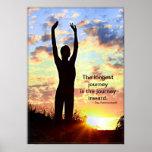 Yoga de la salida del sol - el viaje más largo impresiones
