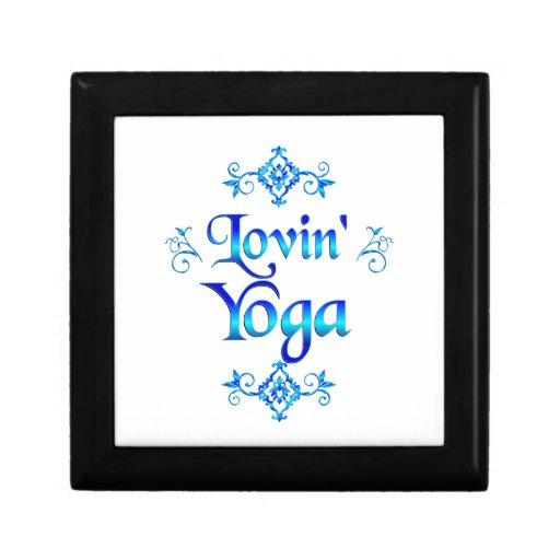 Yoga de Lovin Joyero Cuadrado Pequeño
