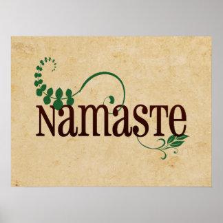 Yoga de Namaste Impresiones