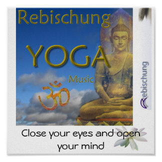 Yoga de Rebischung Póster