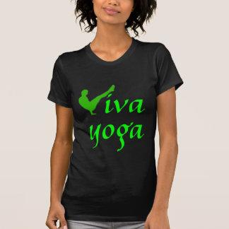 Yoga de Viva - camiseta menuda de la yoga Polera