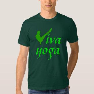 Yoga de Viva - la camiseta cabida de los hombres Polera