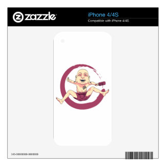 Yoga Decal For The iPhone 4S