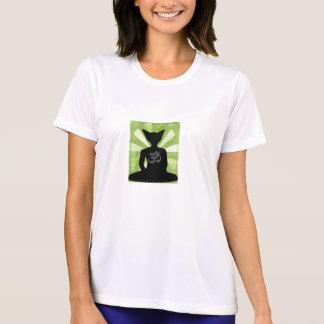 Yoga del gato de Buda y camisa de Pilates