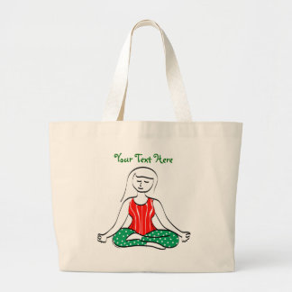 Yoga del navidad bolsas