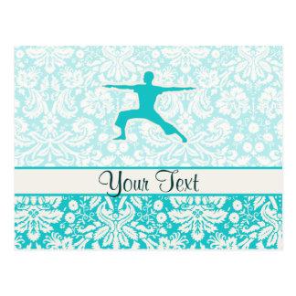 Yoga del trullo postales