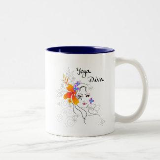 Yoga Diva Gift Coffee Mug