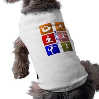 Yoga dog shirt
