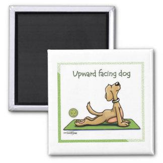 Yoga Dog - Upward Facing Dog Pose Magnet