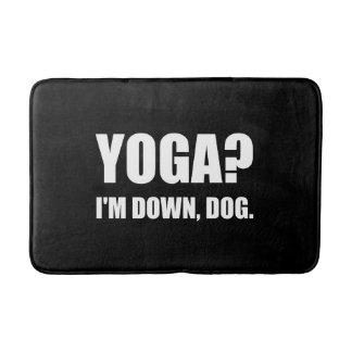 Yoga Down Dog Bath Mat
