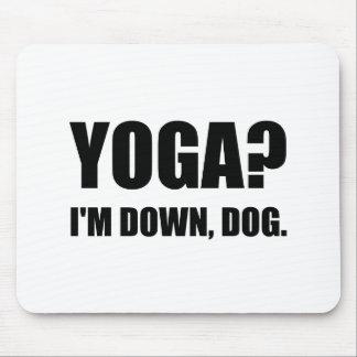 Yoga Down Dog Mouse Pad