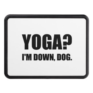 Yoga Down Dog Tow Hitch Cover