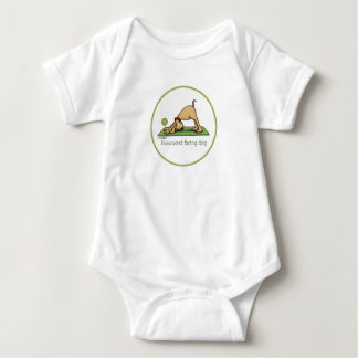 Yoga - Downward Facing Dog Baby Bodysuit