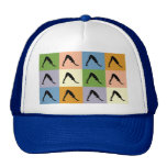 Yoga Downward Facing Dog Trucker Hat