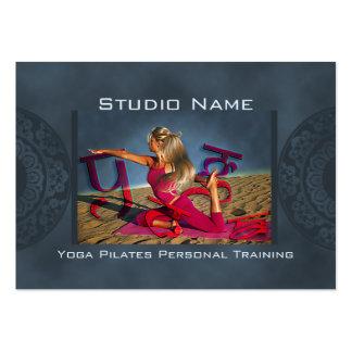 Yoga Dunes Large Business Card