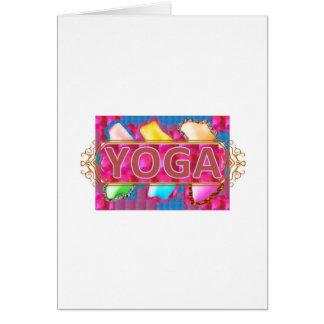 YOGA Enchanting Energy Print Cards