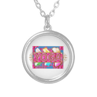 YOGA Enchanting Energy Print Necklace