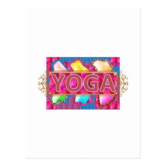 YOGA Enchanting Energy Print Postcard