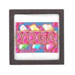 YOGA Enchanting Energy Print Premium Keepsake Boxes