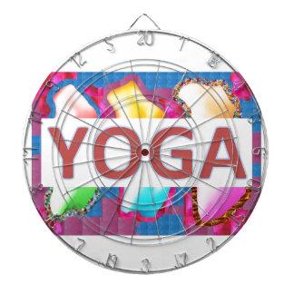 YOGA Enchanting Energy  Script Dart Board