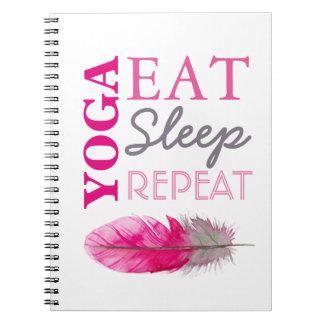 Yoga Entusiast Notebook